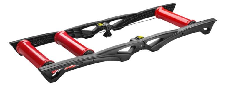 Elite Arion træningsruller til cykler kræver en del balance.